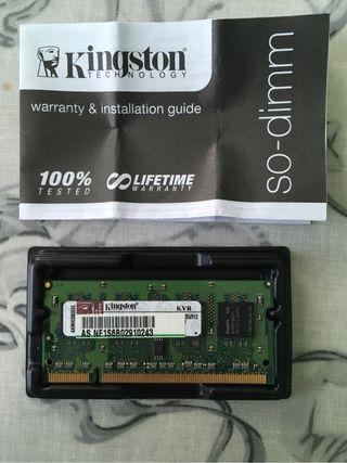 Memoria RAM portatil 1Gb