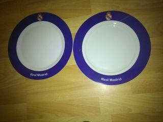 dos platos real Madrid