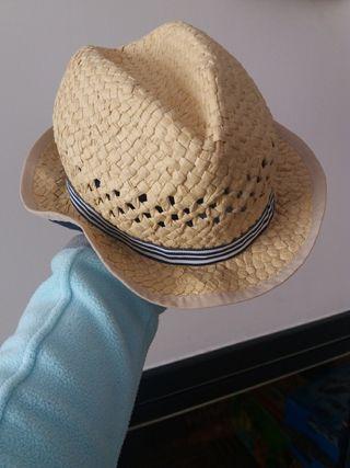 Sombrero de paja niño