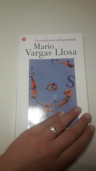 Libro La civilización del espectáculo, Mario Varga