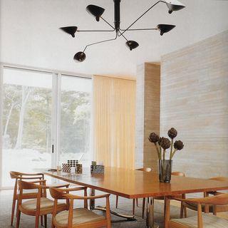 Lámpara contemporánea