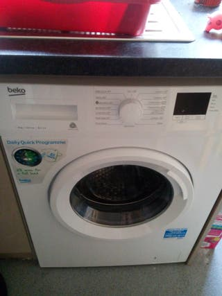 brand new beko 8kg a+++ washing machine