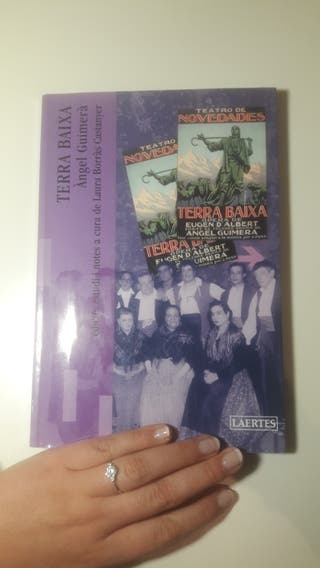 Libro TERRA BAIXA, DE ANGEL GUIMERA