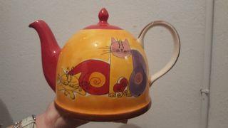cafetera de cerámica