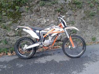 KTM - FREERIDE 350. 1200 KM