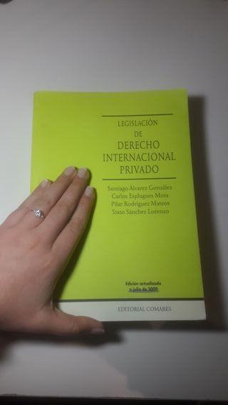 Libro Legislación de Derecho Internacional Privado