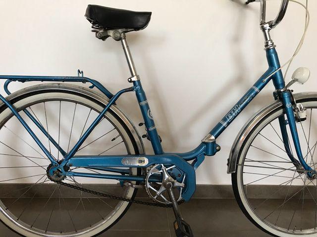 Bicicleta plegable BH años 70