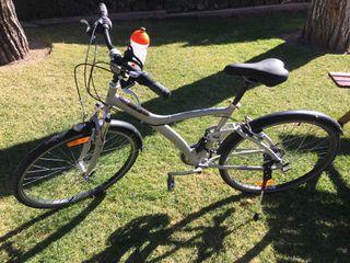 Bicicleta hibrida suspension