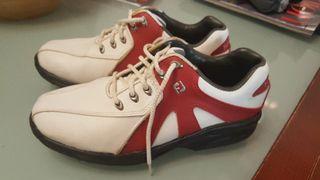 zapatos golf junior