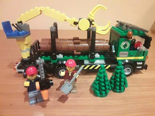 Camion forestal de Lego