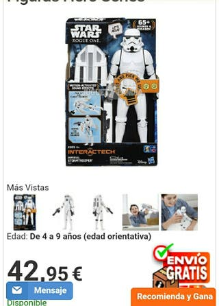Star Wars Rogue One Figura Hero Series NUEVA