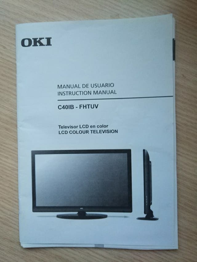Manual usuario oki tvv32t2