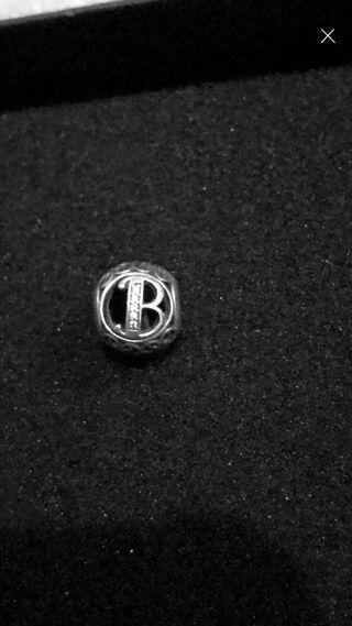 Pandora B charm