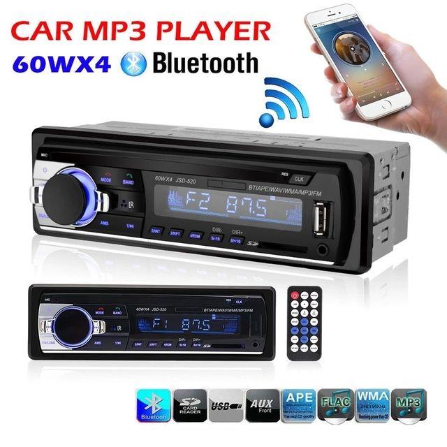 Radio coche 1din usb mp3 manos libres NUEVA