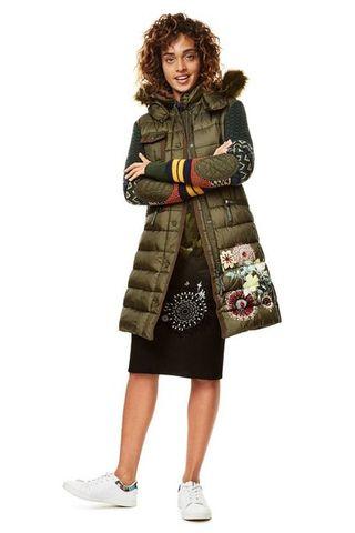 Modelo Mano Por Y Michelle Segunda De 99 Desigual Abrigo 38 42 qanFw5Rq8