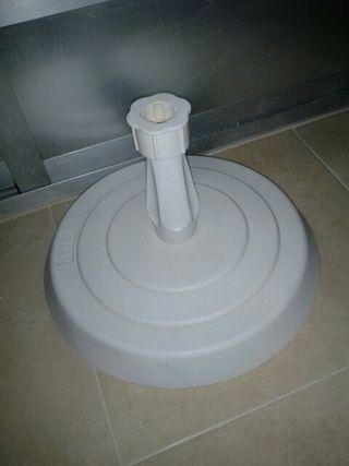 pie para sombrilla con orificio de 3,5 cm