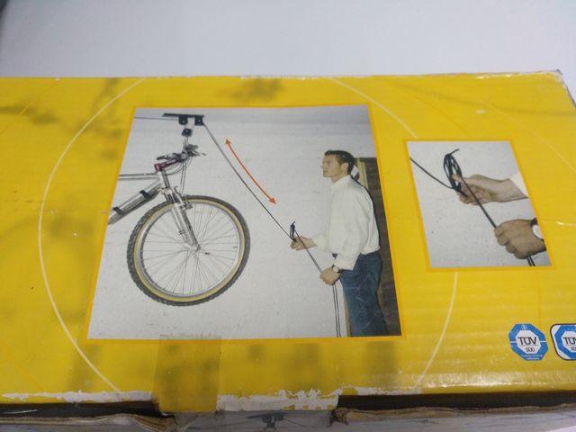 Soporte De Techo Para Colgar Bicicleta De Segunda Mano Por 20 En - Colgar-bici-techo