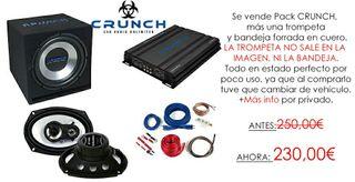 Pack Crunch semiNUEVO!