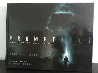 Prometheus The art of the film.Titan books