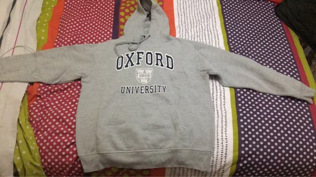 Sudadera Oxford