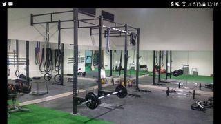 Estructura gimnasio