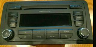 Radio-equipo música Audi