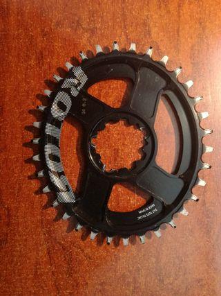 monoplato rotor oval 34 dientes