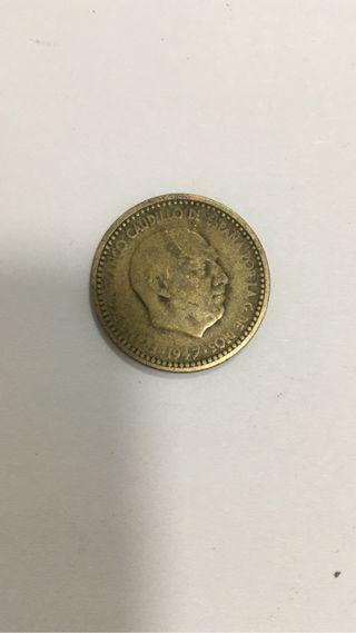 1 peseta 1947