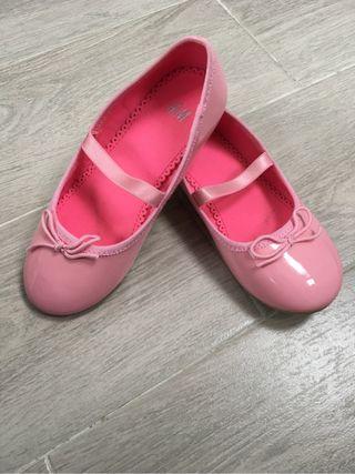 Bailarinas rosa chicle charol