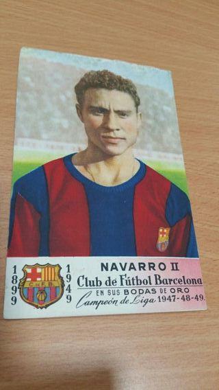 Cromos de fútbol Barcelona
