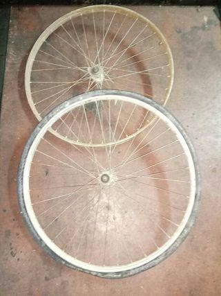 ruedas bici de varillas