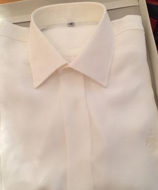 Camisa niño seda.