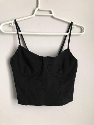 top corset negro