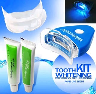 kit blanqueamiento dental luz led
