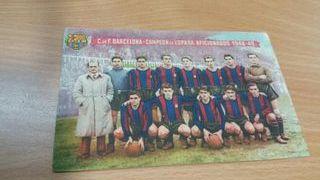 Futbol clup barcelona postales