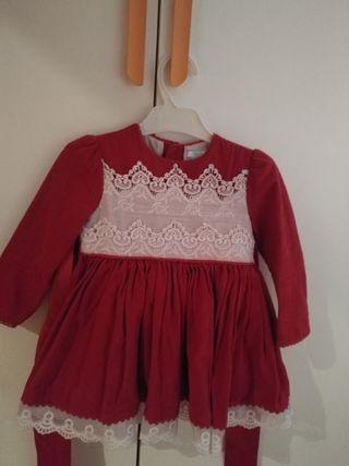 vestido bebes chic talla 3 con braguita