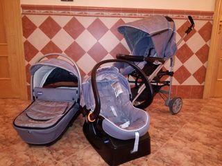Carro bebé chicco Trio living