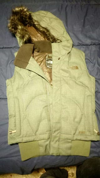chaleco the north face chica
