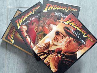 Las 4 películas de Indiana Jones DVD