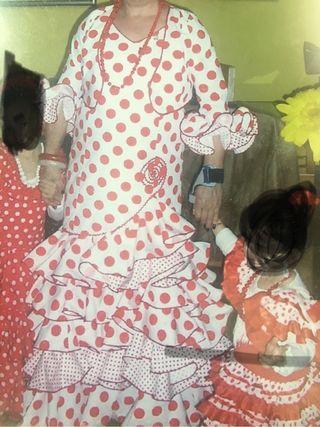 Traje flamenca talla 44