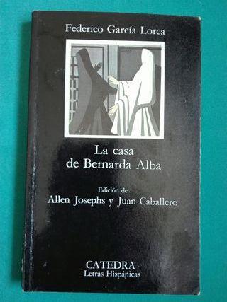 Libro «LA CASA DE BERNARDA ALBA»