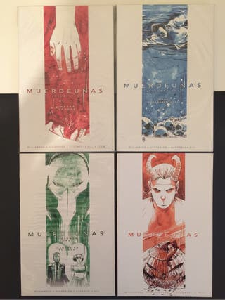 Comics Muerdeuñas (1-4)