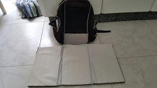 mochila cambiador de bebes