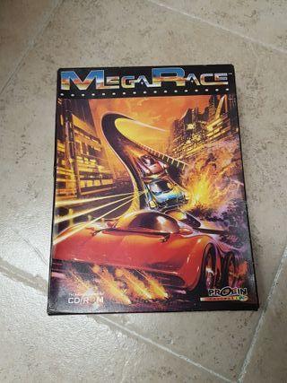 Megarace PC. Caja de cartón