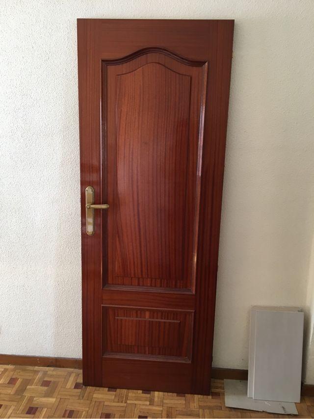Puertas Madera Interior De Segunda Mano Por 50 En Carbajal De La - Puertas-de-madera-interiores