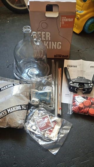 kit para hacer cerveza