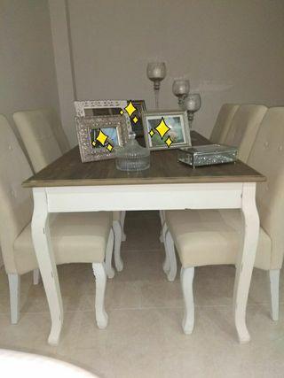 Mesa comedor vintage nueva de segunda mano por 450 € en La Línea de ...