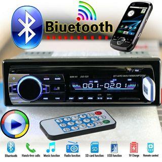 NUEVA RADIO DE COCHE 60W, BLUETOOTH, USB