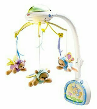 móvil musical para la cuna de bebe