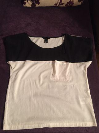 Camiseta chica h&m